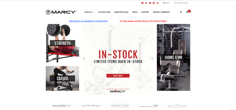 Marcy Home Gym Packages
