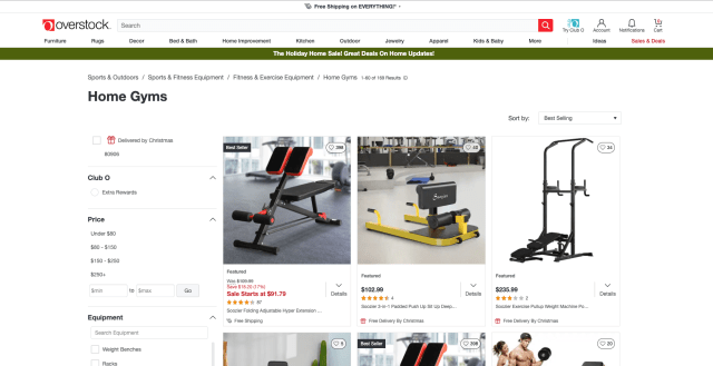 Overstock Home Gyms