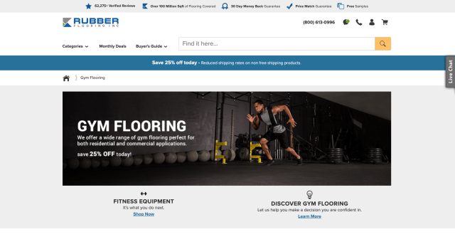 Rubber Flooring Inc. - Commercial Gym Flooring