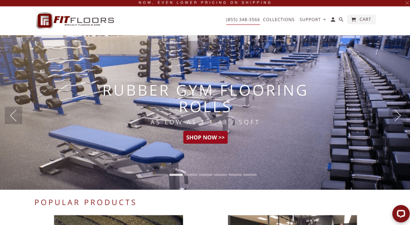 Fit Floors - Commercial Gym Flooring