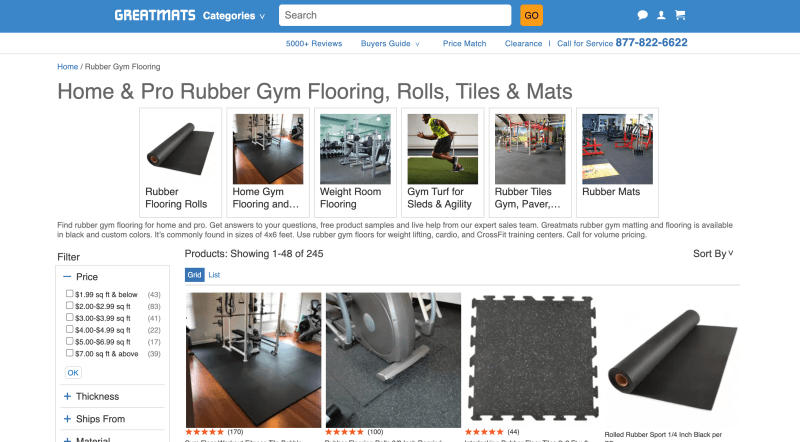 Great Mats - Commercial Gym Flooring