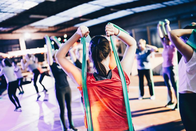 when going to the gym for the first time cultivate a sense of community