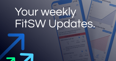 Weekly FitSW App Updates