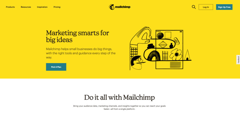 MailChimp for Creating Gym Surveys