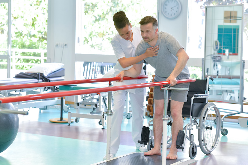 Recover From Car Accident Strengthen Leg
