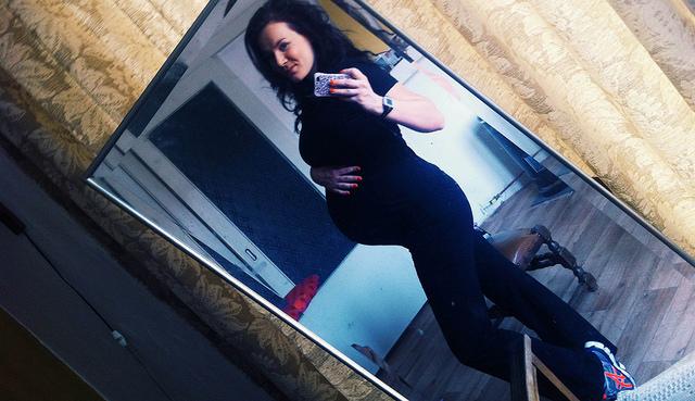 sporten 34 weken zwanger