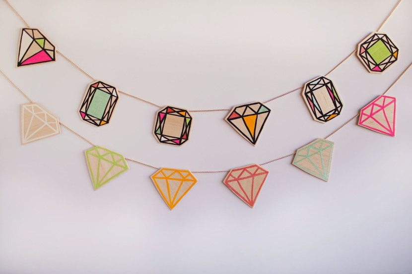 diamond garland