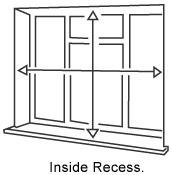 Inside recess