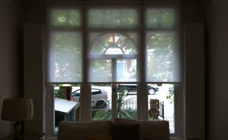 Roller blind fitted in Ladbroke Grove