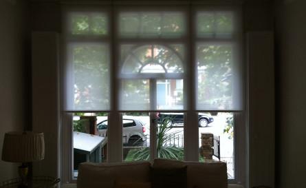 Roller blind fitted in Ladbroke Grove
