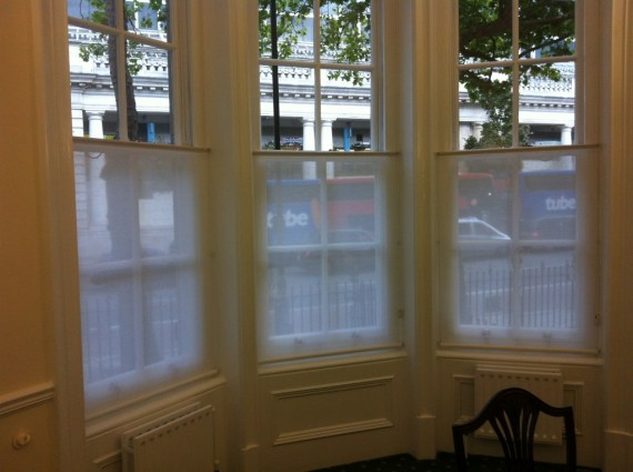 Bottom Up Roller Blinds Fitted In London Victoria