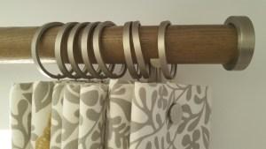 Walcot house curtain pole