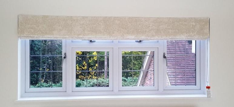 Roman Blind Fitted in Hertfordshire