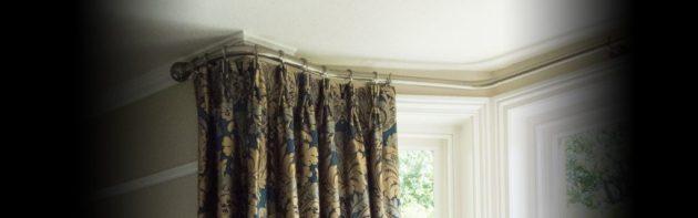 bay curtain pole