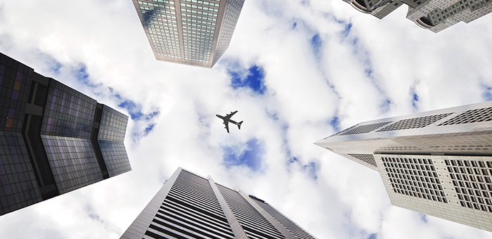 Airplane picture. Photo credit: danist soh.