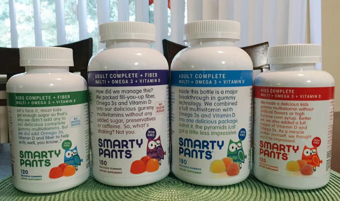 SmartyPants Vitamins product line