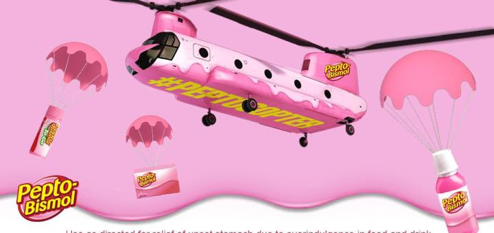 Pepto-Bismol #PinkRelief