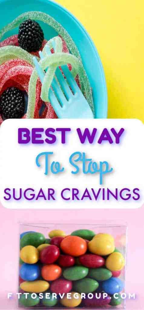 Best way to stop sugar cravings