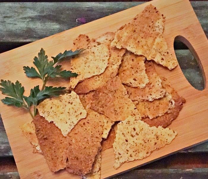 Keto high fiber cracker