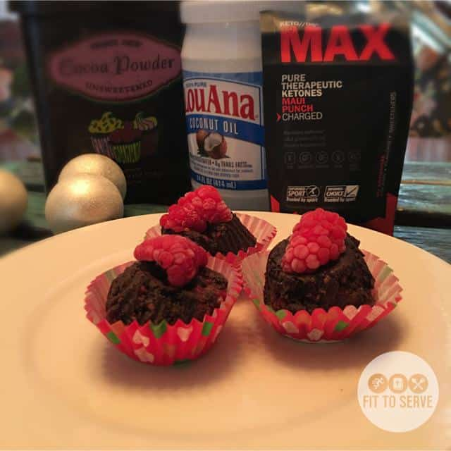 Super-Charged Chocolate Raspberry Fat Bombs