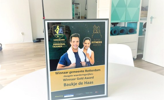 Dutch Fitness Award Baukje de Haas Fittrr