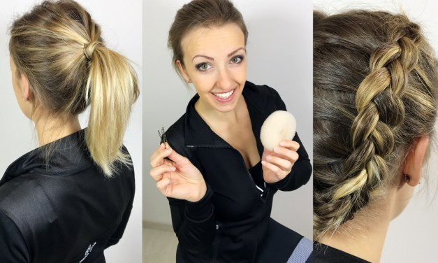 Tuto coiffure sport 3 : la tresse plaquée