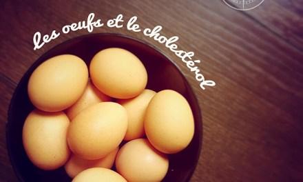 Les oeufs et le cholestérol…