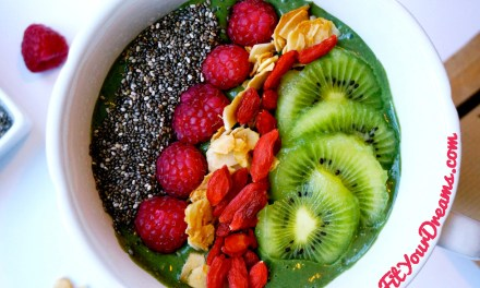 GREEN SMOOTHIE BOWL SPIRULINE MATCHA