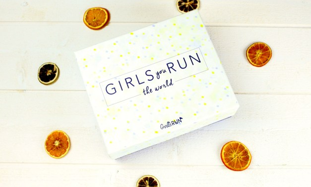 Courrez découvrir la Girls RUN box !