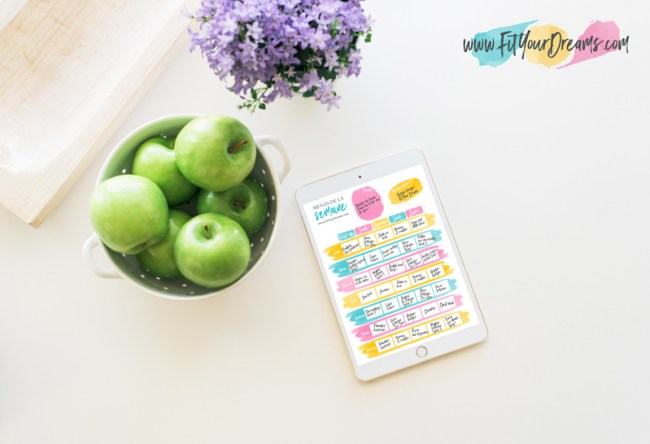 MEAL PLANNER FIT YOUR DREAMS