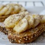 Tartines healthy pour le petit déjeuner
