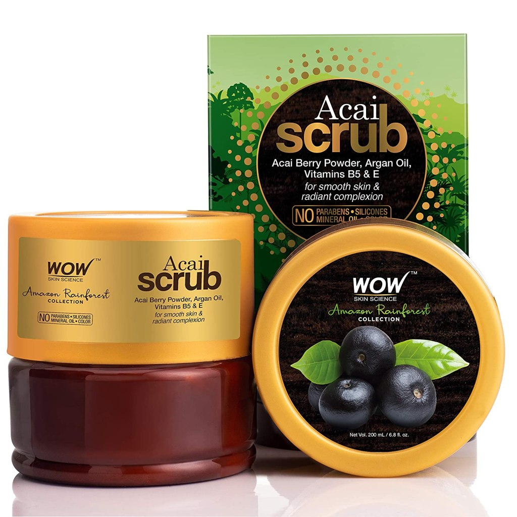 WOW Skin Science Amazon Rainforest Acai Scrub - FITZABOUT