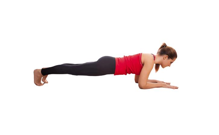 Makara Adho Mukha Svanasana (Dolphin Plank) - fitzabout