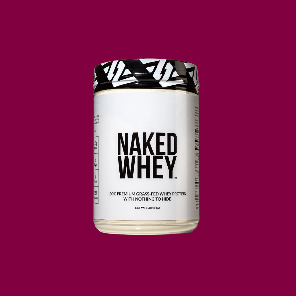 Naked WHEY 100% Grass Fed Unflavored Whey Protein Powder - fitzabout