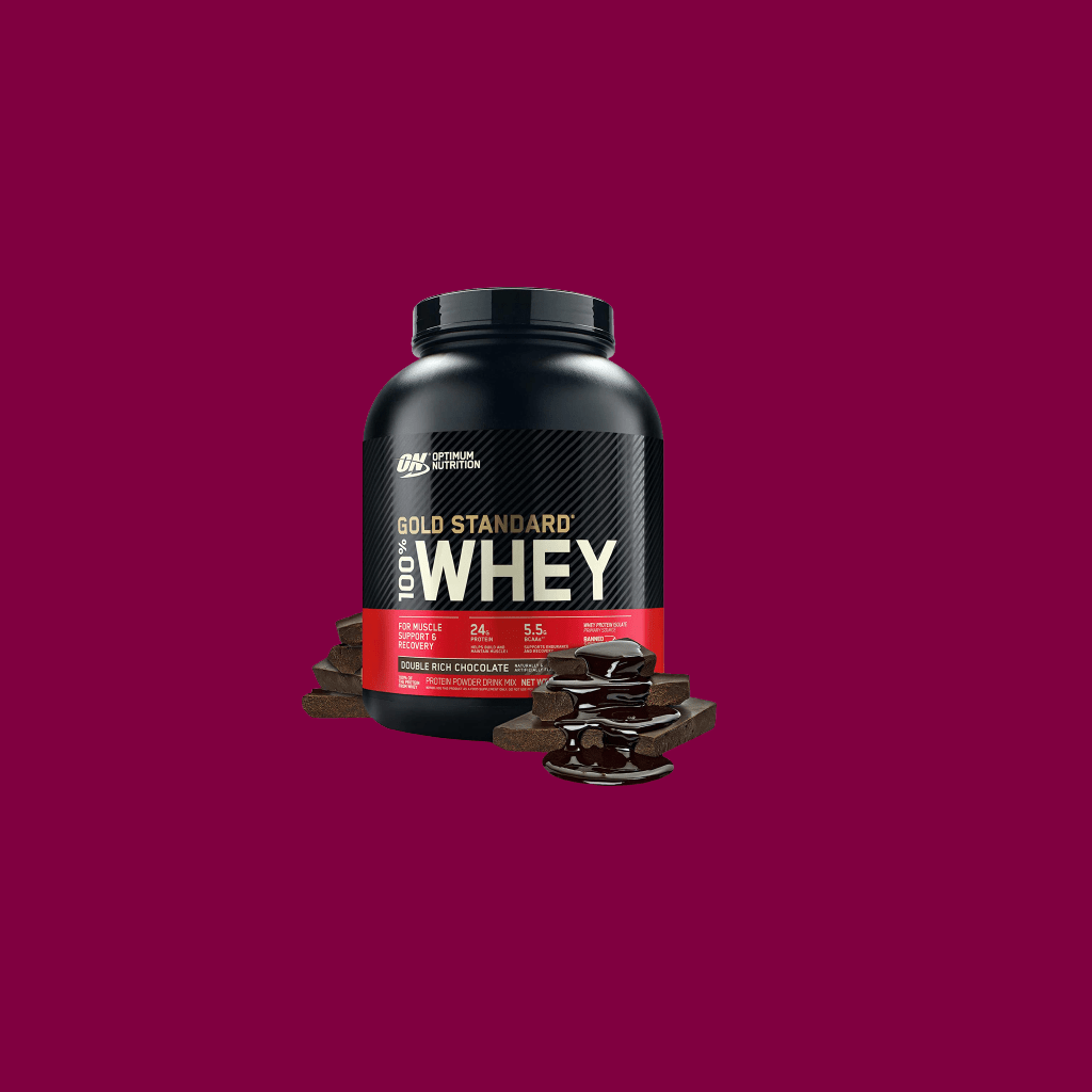 Optimum Nutrition Gold Standard 100% Whey Protein Powder (Double Rich Chocolate) - fitzabout