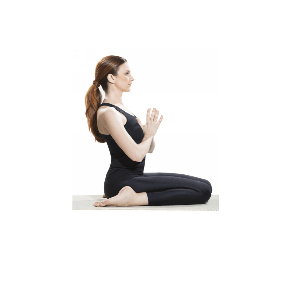 Hero Pose (Virasana) for relief back pain- fitzabout