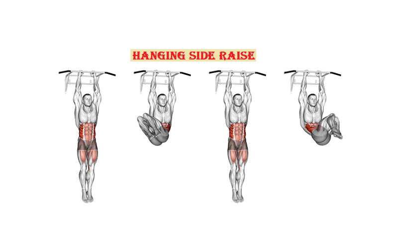 Hanging side raise ab workouts - fitzabout