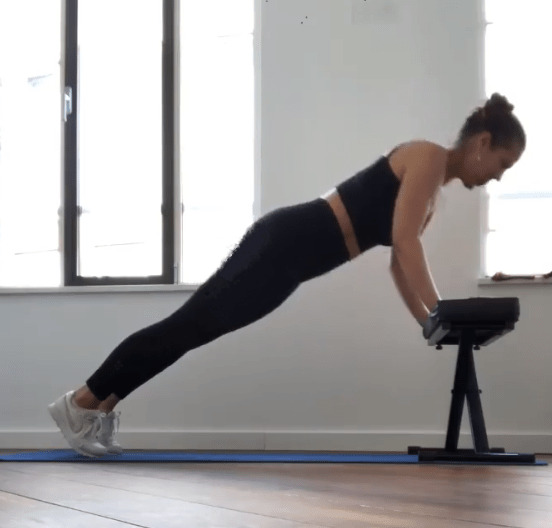Incline push-up - fitzabout