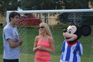 Kaka Soccer Brazil Disney Interview Fitzness - 06