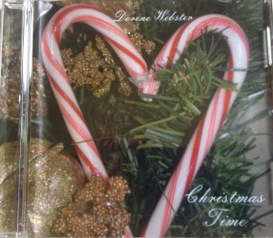 dorene webster christmas time cd