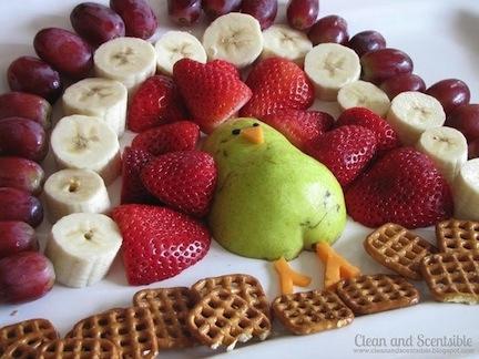 thanksgiving food fruit veggies decoration platters healthy ideas