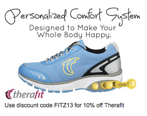 therafit shoe discount code 10% off fitzness