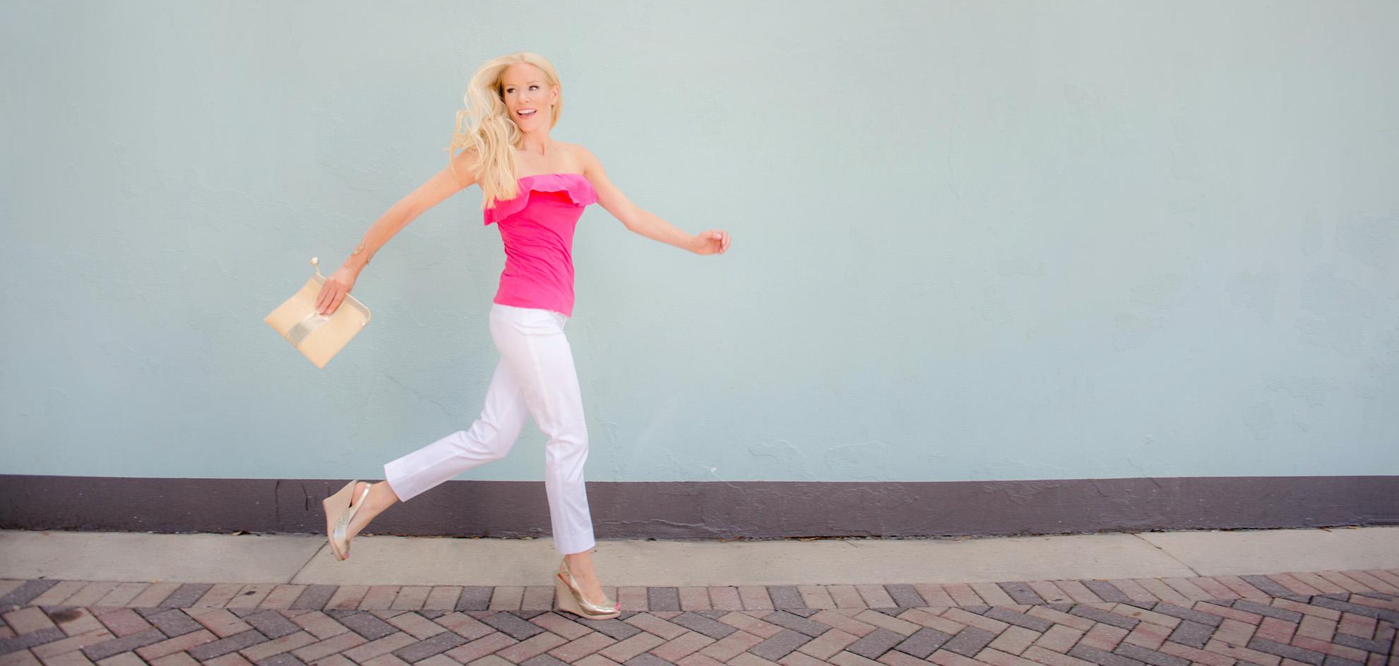fitzness-pink-running