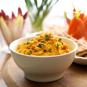 http://www.recipe.com/carrot-hummus/
