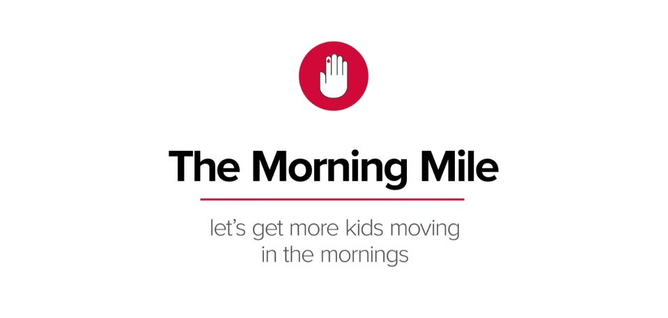 The Morning Mile and The American Diabetes Association - Changing Lives for School Children in America