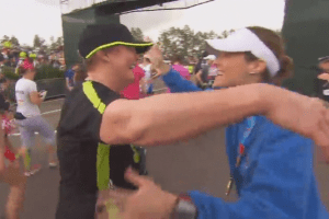 40 Years After Adoption, Emotional Mother and Daughter Reunion Takes Place at Disney's Half Marathon