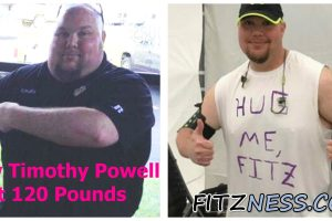 Timothy Powell: How I Lost 120 Pounds