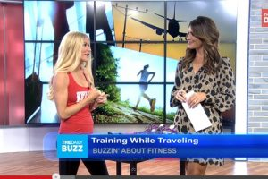 Fitness Training while Traveling - Fitz on The Daily Buzz