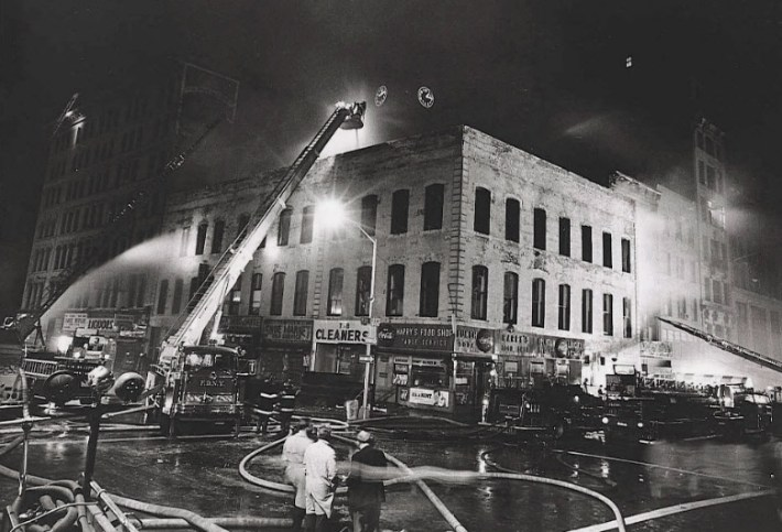 1966 Wonder Drug Fire, 23rd Street