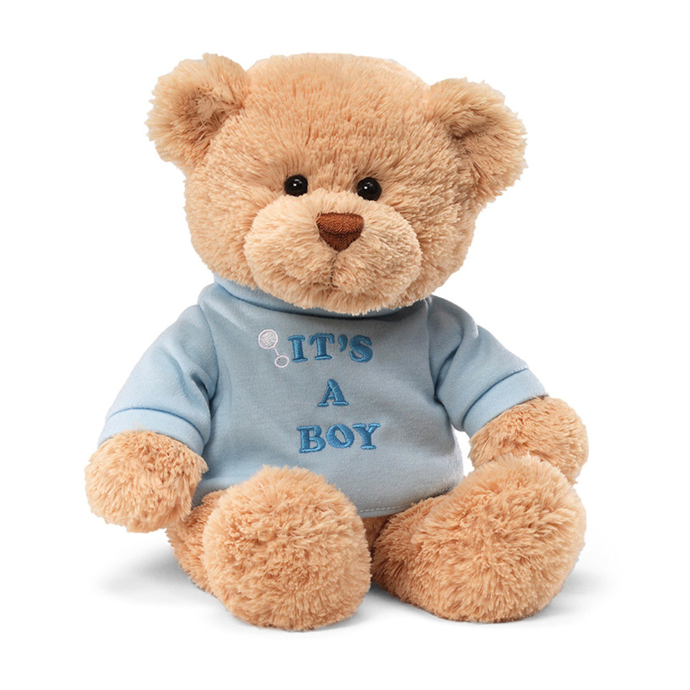 GUND Greetings Its A Boy T Shirt Teddy Bear Fitzulas
